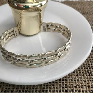 Jewelry - Mexican 925 silver cuff bracelet
